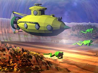 военные мультики про подводные лодки