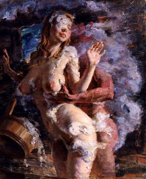 Картины маслом порнография