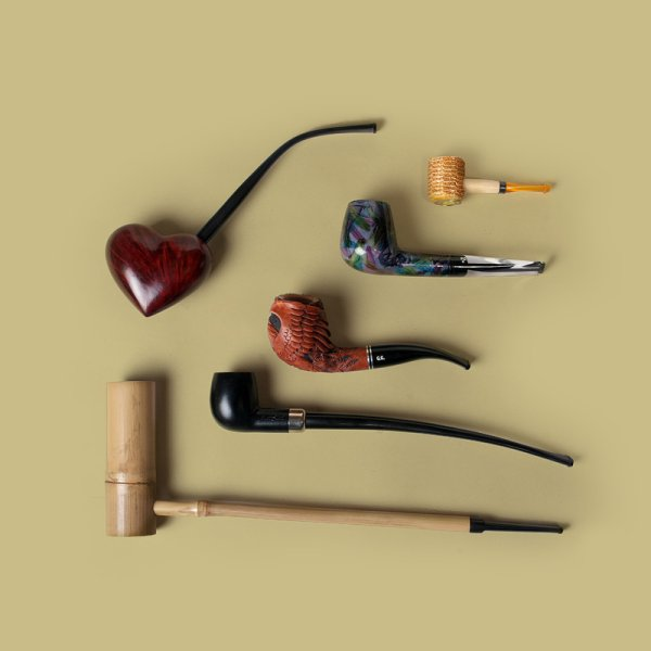 Из чего сделать трубку для курения в домашних условиях